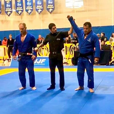 2012 Chicago   IBJJF Jiu-Jitsu Championship MEDAL Trophy Silver